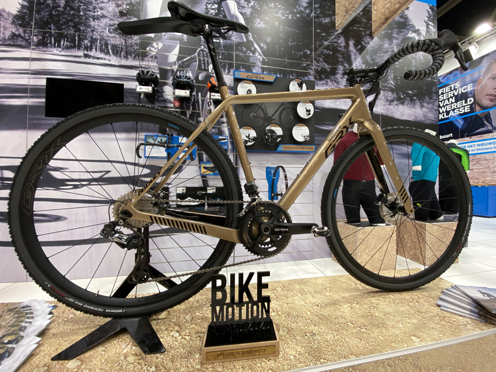 Shimano GRX wint Bike Motion Award