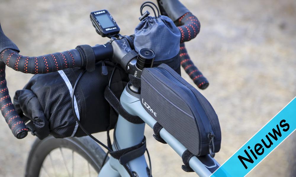 Lezyne Caddy's, fietstasjes voor bijna elke gelegenheid